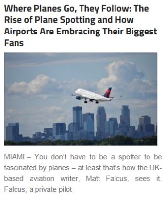 Plane Spot